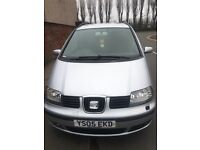 7 seater diesel seat Alhambra with service history