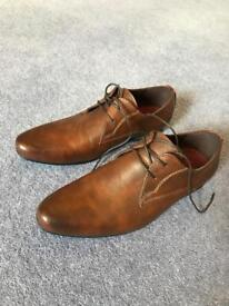 Topman brown shoes size 8 (new)