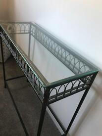 Console table for hall or living room.