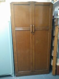 !940s antique wardrobe by advance furniture Sheffield Cabinet