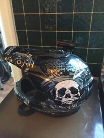 MX helmet and cam