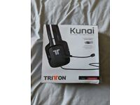 Triton Kunai (Black), PC Gaming Headphones and Microphone