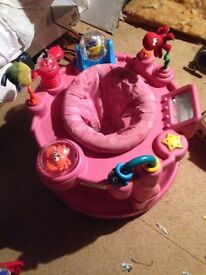 Graco Baby Sit In & Rotate Activity Centre Pink