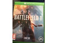 Battlefield 1 & Thief Xbox One