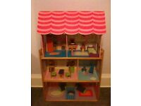 Kidcraft Large Dolls House and Furniture