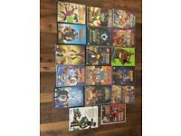 17 x Children's DVDS