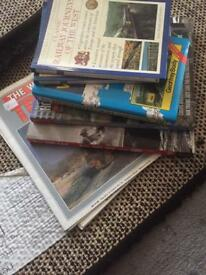Train books and magazines for sale job lot