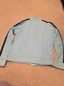Blue Lonsdale zip up top size 10