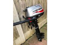 NEW MARINER 6HP 4 STROKE OUTBOARD ENGINE