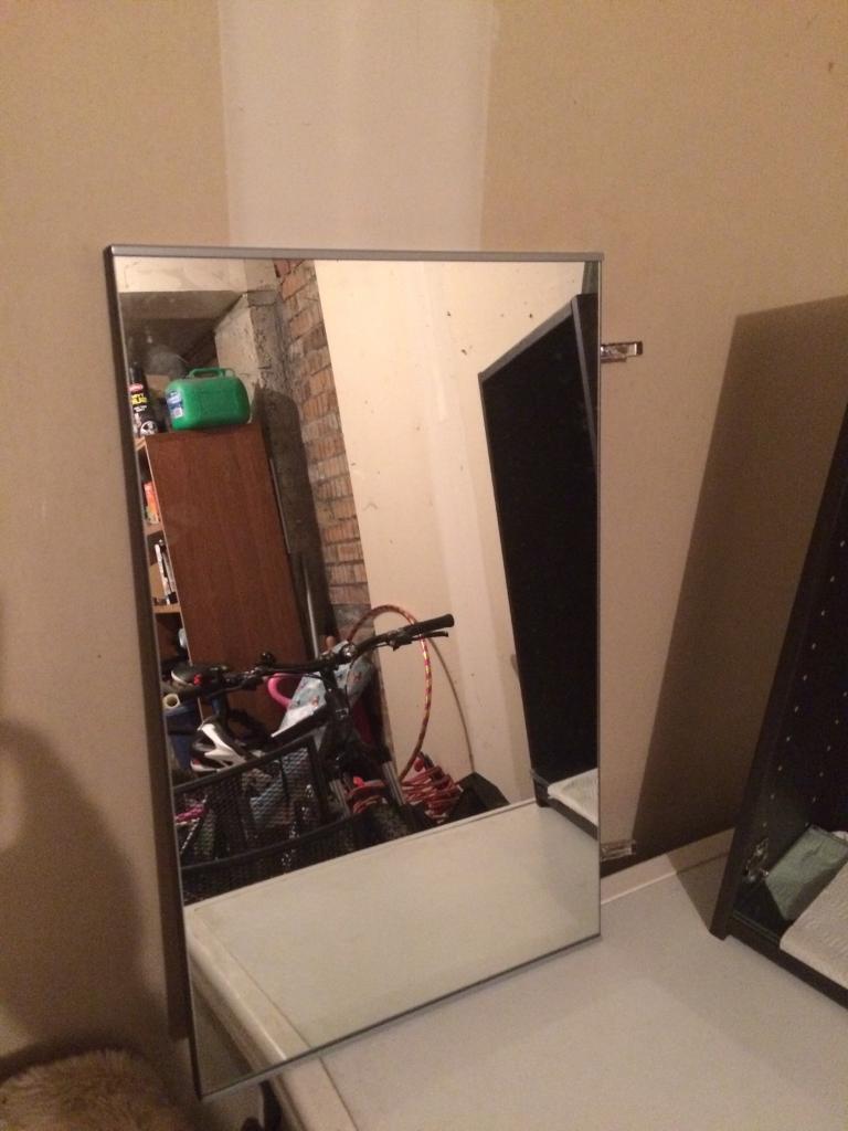 Bathroom Mirror Gumtree bathroom mirror cabinet | in livingston, west lothian | gumtree