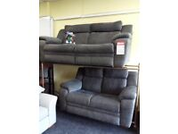 Lazy boy power recliner grey 3&2 sofas tags attached