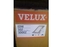 Velux EDW 102 window deep tile flashings 55cmX78cm brand new/boxed.