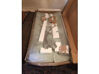 Shower tray, enclosure and thermostatic panel - brand new