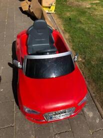 Audi 6v ride on