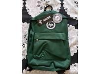 BNWT Hype green backpack