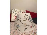 Ikea Alvine Parla Lamp Shade and Bedding