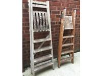 Wooden Step Ladders Wedding Accessory