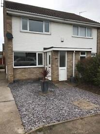 2 bed semi detached property to let, carradale close, eaglescliffe