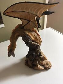 Large mountain dragon