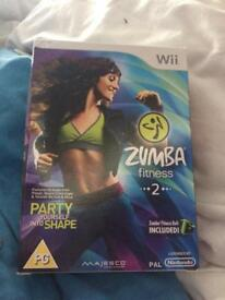 Zumba fitness 2 NEW