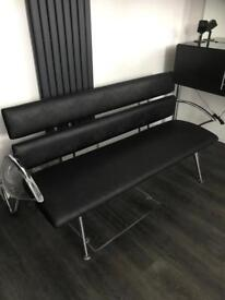 Leather Bench, Reception Bench