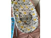 Baby chair and play mat