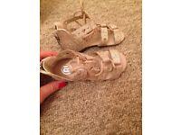 River island girls sandals size 5