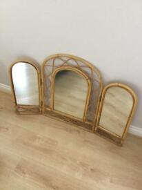 Triple dressing table Mirror