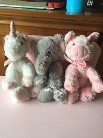 Animal teddy bundle
