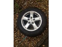 4 Five spoke alloy wheels with good tyres