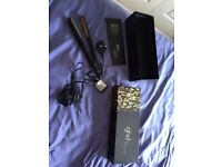 Ghd hair straighteners with box