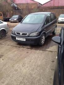 Vauxhall Safira 03plate breaking for spares