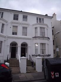 A one bedroom first floor flat in a sought after location of central Hove just up from Hove Lawns.