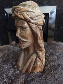 Hand Carved Religious Statue