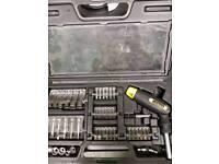 Stanley socket and screwdriver set
