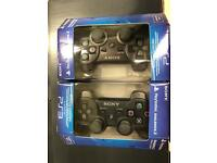 PS3 controllers brand new in box