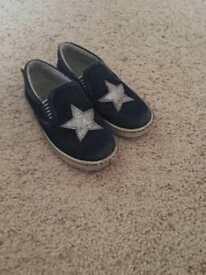 Girls deniem shoes size 8
