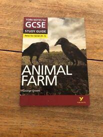 York notes Animal Farm study guide