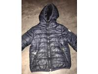 Boys age 3-4 years moncler coat used