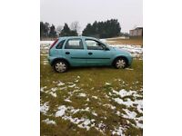 Vauxhall corsa 1.2 petrol life