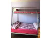Bunk bed - Triple sleep - Metal - Good condition