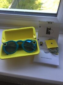 Snapchat glasses/spectacles