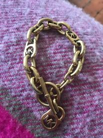 Michael Kors Gold Plated Chain Braclet