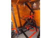 Bodymax olympic leverage multi gym with incline decline bench