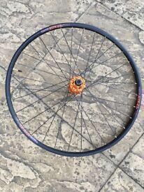 "650b / 27.5"" mountain bike rear wheel"