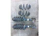 Astra h shocks and rear springs