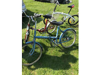 vintage folding bike have 2 for sale