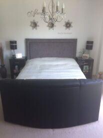"Kingsize 32"" TV Bed"