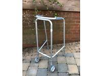 Narrow walking frame - adjustable
