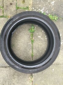 Continental Contact 5 SSR Run Flat Tyres 225 40 18 (USED)
